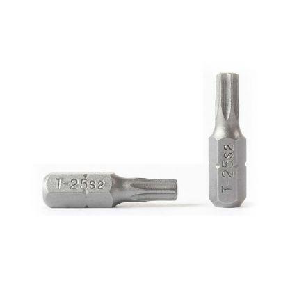 Superior Steel BT125-50PK T25 Single End Torx Screwdriver Bits - 1 Inch Long - 50 Display Pack