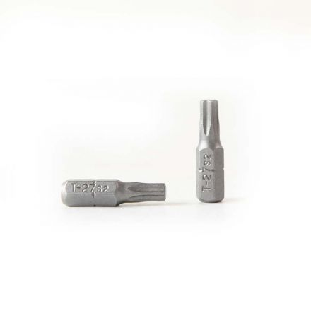 Superior Steel BT127-10PK T27 Single End Torx Screwdriver Bits - 1 Inch Long - 10 Display Pack