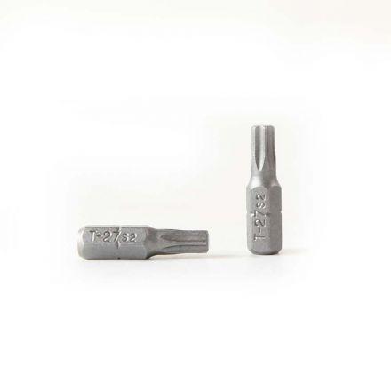 Superior Steel BT127-50PK T27 Single End Torx Screwdriver Bits - 1 Inch Long - 50 Display Pack