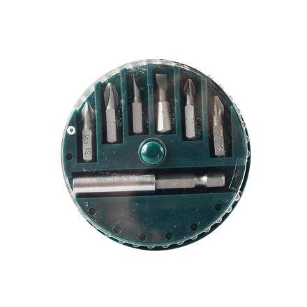 Superior Steel BT007K 7 Piece Screwdriver Bit Set