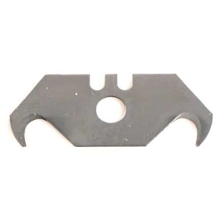 Superior Steel HB1500 Hook Blades for Carpets and Roofing - 10pcs/pack